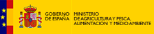 Logotipo Ministerio Agricultura y Pesca Alimentación y Medio Ambiente